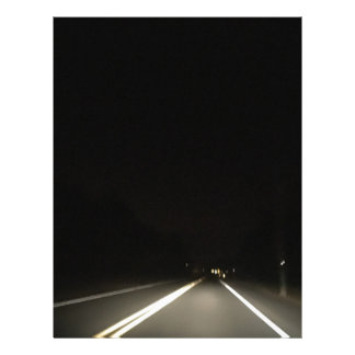 Dark roads and Night time adventures Letterhead