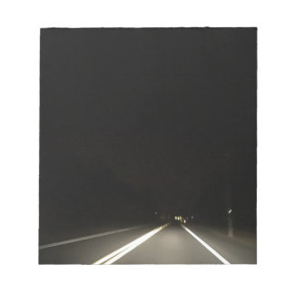 Dark roads and Night time adventures Notepad