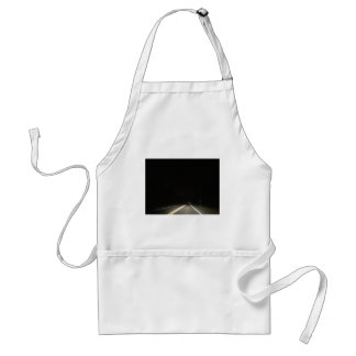 Dark roads and Night time adventures Standard Apron