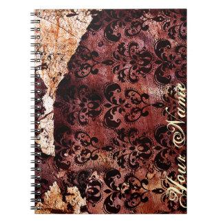 Dark Romance: Against The Wall Spiral Notebook