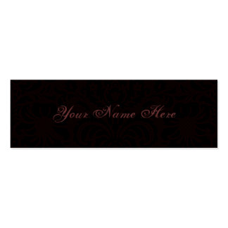Dark Romance Mini Business Card