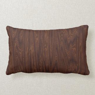 Dark Rosewood Lumbar Pillow