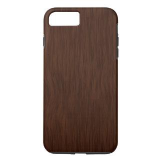 Dark Rough Wood Grain Background iPhone 8 Plus/7 Plus Case