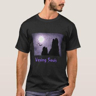 Dark_Ruins_Bats, Vexing Souls T-Shirt