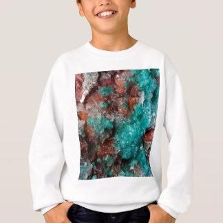Dark Rust & Teal Quartz Sweatshirt