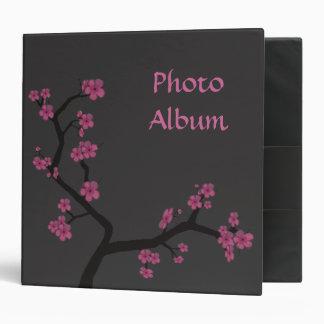 Dark Sakura Vinyl Binder