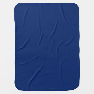 Dark Sapphire Solid Color Swaddle Blankets