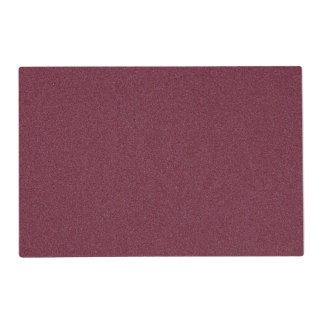 Dark Scarlet Star Dust Laminated Place Mat