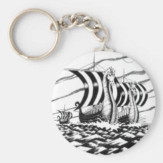 dark sea voyage keychain
