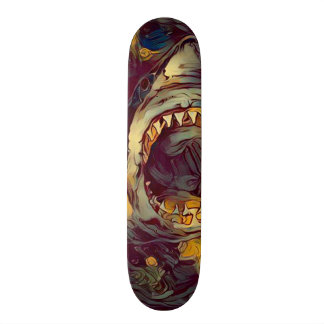 Dark Shark Element Custom Pro Park Board Skateboard Deck