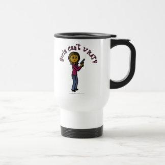 Dark Sharpshooter Girl Mugs