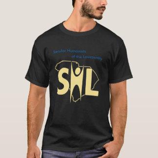 Dark SHL T-shirt with URL