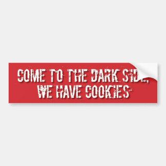 Dark SIde Cookies Bumper STicker