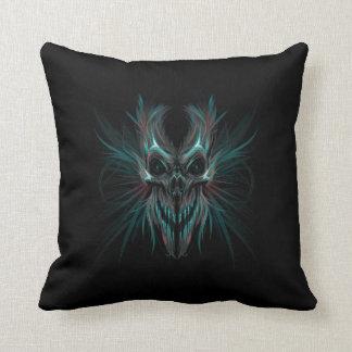 Dark Skeleton Throw Pillow