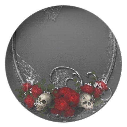 Dark Skulls Plate