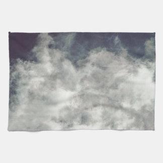 Dark Sky, Bright Cloud Towel