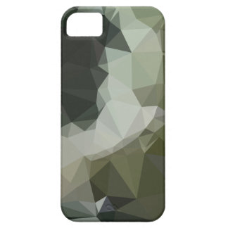 Dark Slate Gray Abstract Low Polygon Background iPhone 5 Covers