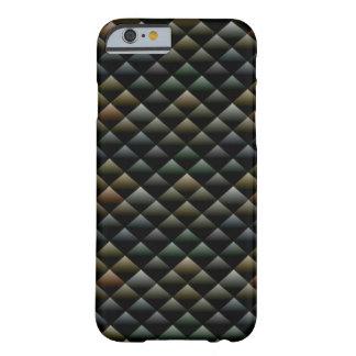 Dark Snakeskin Geometric Design iPhone 6/6s Case
