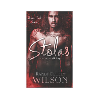 Dark Soul Series Stolas Book Cover Canvas