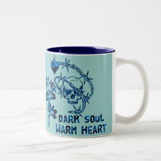 Dark Soul Skull Two-Tone Mug