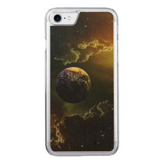 Dark Space Scene Carved iPhone 7 Case