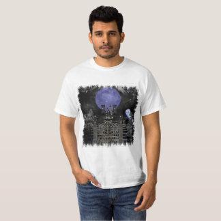 Dark Spooky Graveyard Design T-Shirt