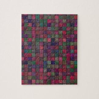 Dark squares jigsaw puzzle