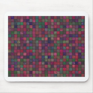 Dark squares mouse pad