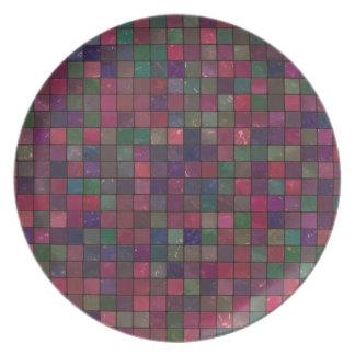 Dark squares plate