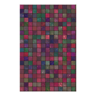 Dark squares stationery