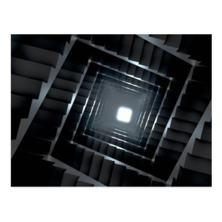 Dark Stairs Postcard
