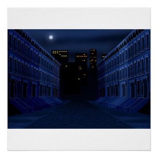Dark Street Poster