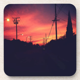 Dark Sunset Coaster