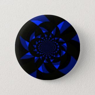 Dark Swirl 2 Inch Round Button