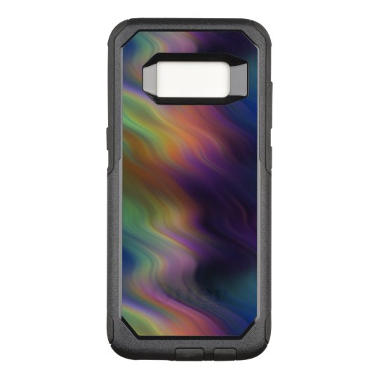 Dark Swirling Rainbow of Colour OtterBox Commuter Samsung Galaxy S8 Case