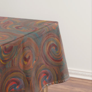 dark swirls tablecloth