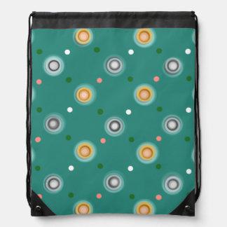 Dark Teal Drawstring Bag