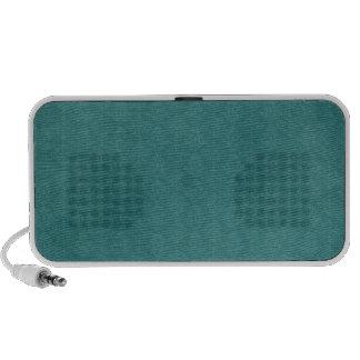 Dark Teal Pattern Travel Speaker