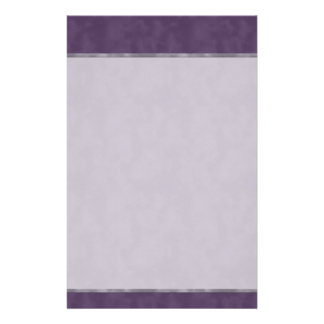 Dark Textured Purple Stationery