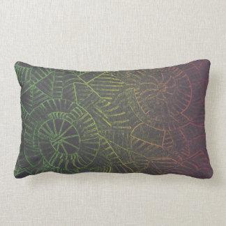 Dark Tie Dye Lumbar Pillow