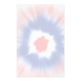 Dark Tie Dye Stationery