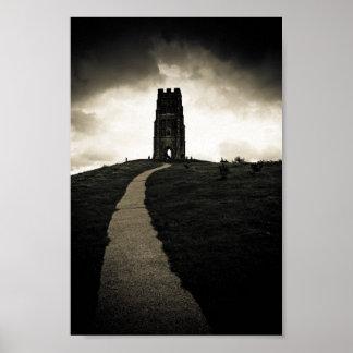 Dark Tor - Iconic Glastonbury 6x10 Archival Poster