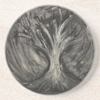 Dark Tree Drink Coasters