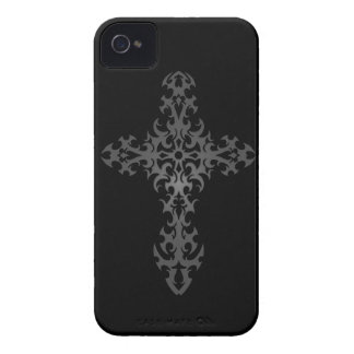 Dark Tribal Gothic Cross iPhone 4 Cover