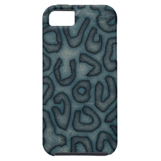 Dark Turquoise Cheetah Abstract iPhone 5 Covers