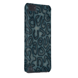 Dark Turquoise Cheetah Abstract iPod Touch (5th Generation) Cover