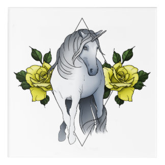 Dark Unicorn Acrylic Print
