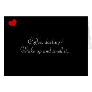 Dark Valentine Collection: Coffee, Darling? Cards