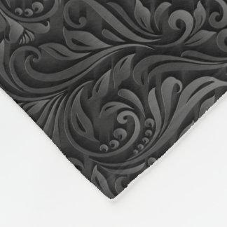 Dark Victorian Fleece Blanket