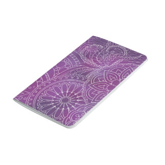 dark violet gradient zen pattern with sends them journal